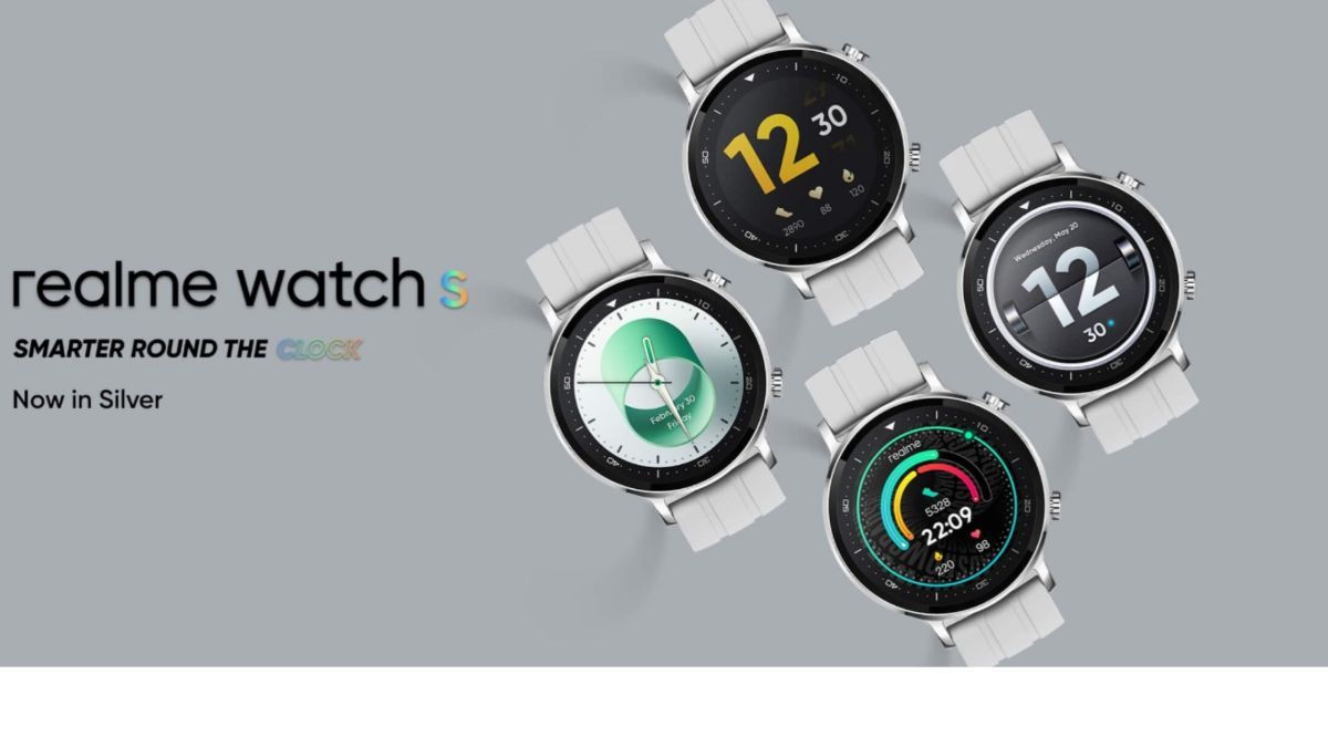 Realme Watch S gets a new colourway — Silver