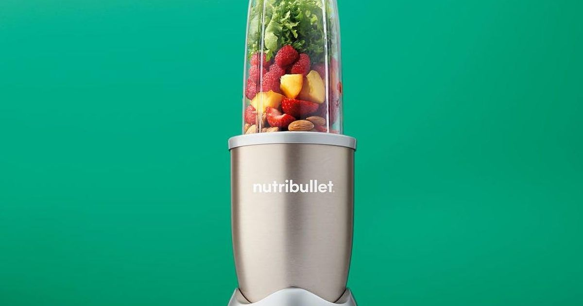 Score a NutriBullet Pro for just $60 and blend, baby, blend!