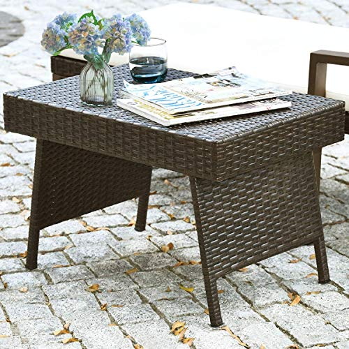 Top 10 Best Foldable Outdoor Wicker Tables 2021