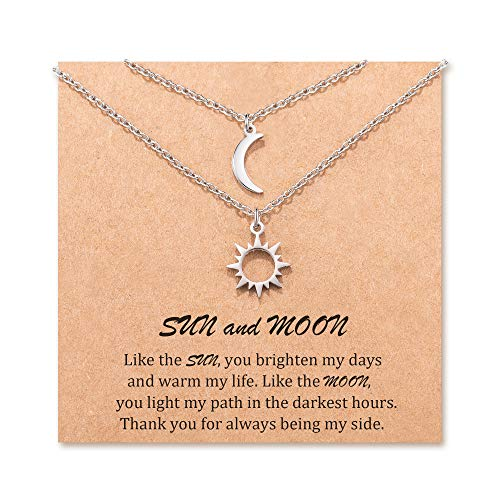 Top 10 Best Necklaces Sun And Moons 2021