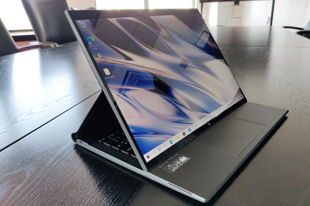 HP Elite Folio review: Extreme mobility for a price