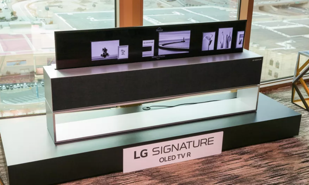 The Future is Here: LG's Rollable OLED TV on the Rise
